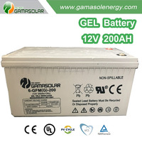 Good quality 12v 200ah recycled marine battery for wholesale