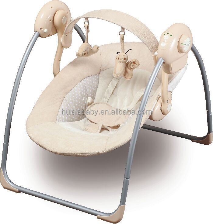 2017 New Style the best quality foldable baby electric cradle swing bed swinging crib
