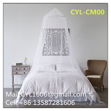Best Popular King Queen bed canopy for Adults Round Hanging Mosquito Nets for Bedroom Without Door