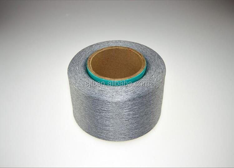 antistatic filament yarn for ESD fabric, antistatic fabric and cleaning room garment