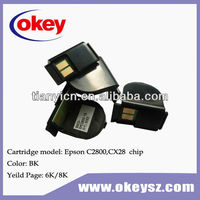 Compatible Toner Reset Chip For Epson Aculaser C2800 Laser Printer Cartridge Chip