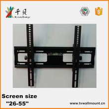 hot selling high quality 23-55 inch lcd tv wall mount shelf