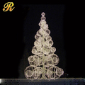 Christmas day hot use led christmas ball tree for indoor place