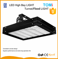 120W led high bay lights 60deg to 120deg beam angle commercial low bay 5 years warranty