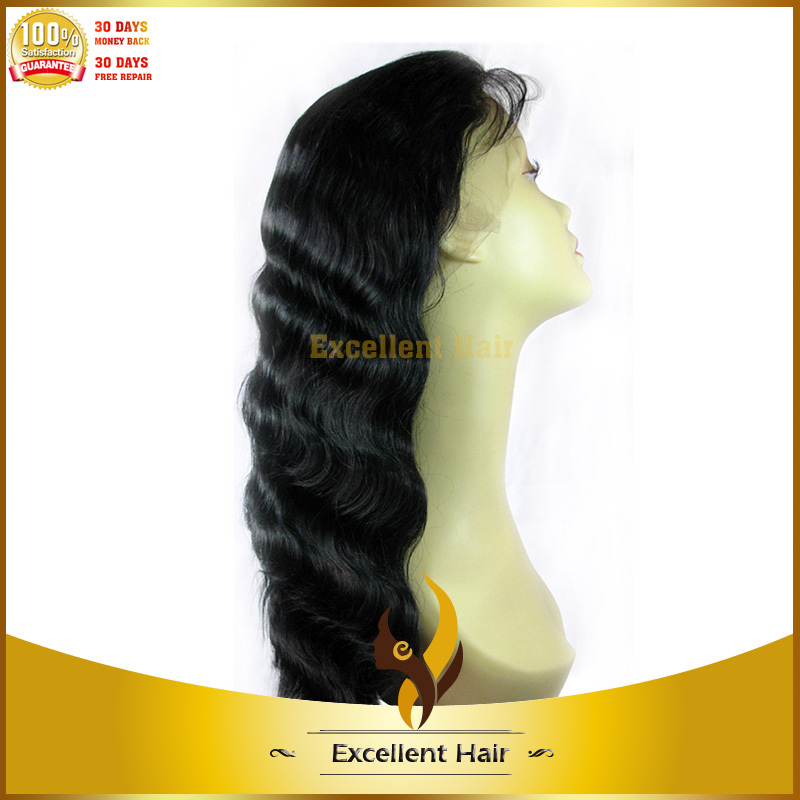 high quality high-temperature fiber body wave synthetic lace wigs with baby hair