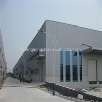 China Cheap Prefab Two Story Long-Span Steel Structural Building