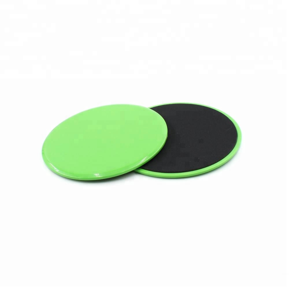 Use on Carpet or Hardwood Floors Abdominal Exercise Equipment Dual <strong>fitness</strong> gliding discs core sliders