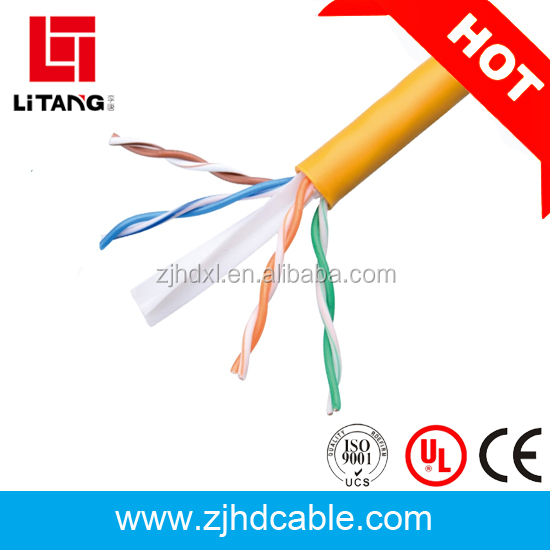 2017 CE UL ROHS ISO CPR approved 1000ft utp cat 6 cable rj45 connector