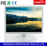 5: 4 White Colour TFT LCD Monitor 17 inch Desktop Computer Monitor