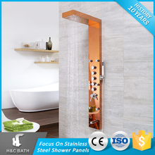 Bath Led Anti-Finger Higt Quality 304 Stainless Steel Shower Panel