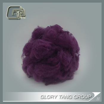 GTR306 recycle dope dyed synthetic fibres from China