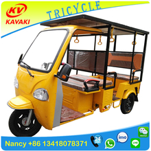1000W 60V Solar power rickshaw asia market electric bajaj three wheeler price