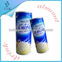 soft drink New born/almond drink in canned