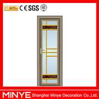 European style bathroom swing door interior