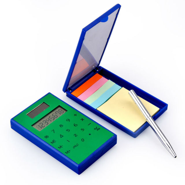 Multifunction Magic Box Calculator with Ball Pen and Notes