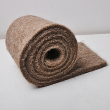 Factory direct supply pure woolen felt brown anti-cold warm keeping felt used in vegetable green house