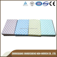 High quality disposable spunlace nonwoven esd cleaning cloth