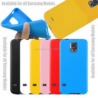 New Gel TPU Silicone Case Cover Pouch Bumper Wallet for Samsung Galaxy S4 IV i9500 / Galaxy S5 V i9600 Yellow