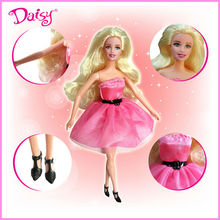 11.5 inch fashion plastic girl toy doll