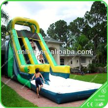Hot sell Inflatable slide for kids and adults in summer,sliding door accordion