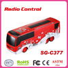 2014 hot sale Remote control stunt bus with rotation function of gas rc car