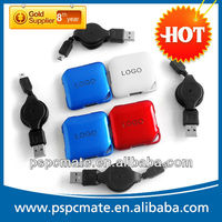 2013 New Portable Smart Hub 4 Port Driver to USB