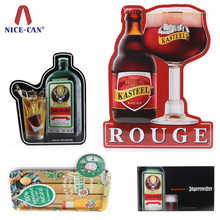 wholesale metal beer tin sign