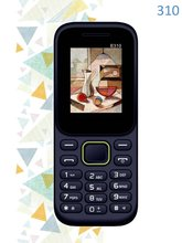 OEM 1.8 inch GSM Low cost Feature Phone Bar Type Quad Band Dual Sim Card Pattern Camera SOS Key Senior Basic Phone 310F