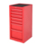 "2016 New design 16"" 6drawers US pro steel side cabinet toolbox"