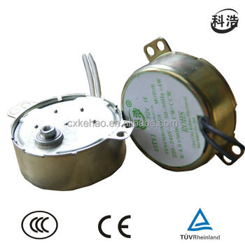 TYJ49 4W AC Synchronous Motor for electric fireplace(TUV)