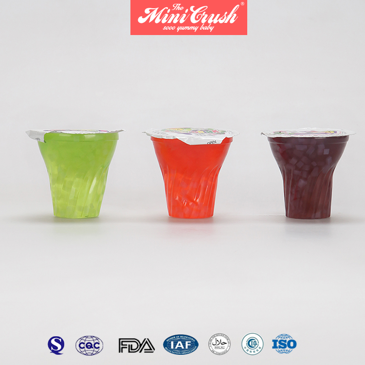 Gummy Pudding Nata De Coco Organic Fruit Cups Jelly