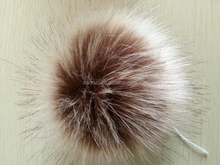 Fashion winter real faux fox fur ball fur ball/pompom hat