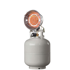 Tank-Top gas propane Heater with anti-tip device