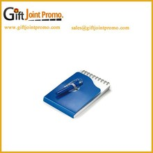 Promotional Cheap Notebook with Retractable Ballpoint Pen