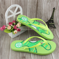 2015 new summer fashion EVA pvc Sandals beach slippers flip flops shoes women Lightweight New Colors