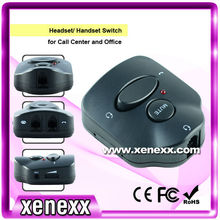 S22 call centre recording headset telephone switch box