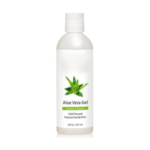 MELAO Aloe Vera Gel from Organic Cold Pressed Aloe, 8 fl. oz.
