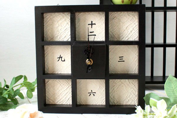 Japanese Antique Style wall & table Clock type D