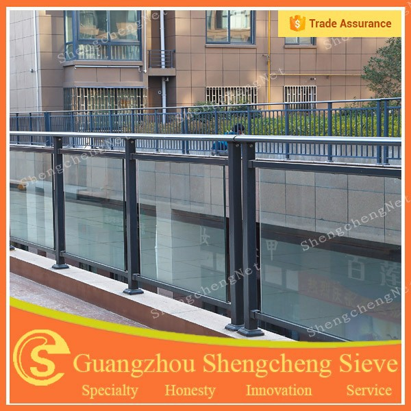 galvanized steel handrail tempered glass garde corps buy handrail garde corps galvanized steel. Black Bedroom Furniture Sets. Home Design Ideas