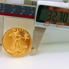 1 ounce American eagle gold plated coin /collect value American eagle coin in stock