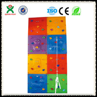 Colorful food grade material outdoor rock climbing/kids wall climbing/plastic indoor rock climbing QX-097B
