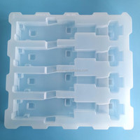 PVC Disposable Antistatic Electronic Blister Tray