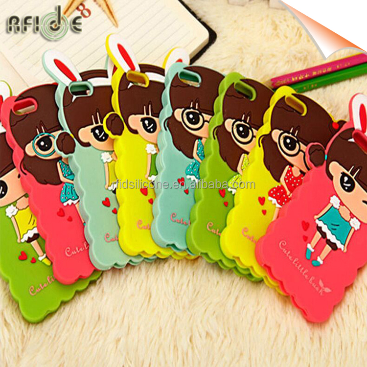 Colorful soft gel silicone mobile case for iphone 6 silicone case
