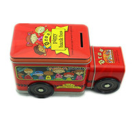 Train Shaped Metal Tin Box For Candy