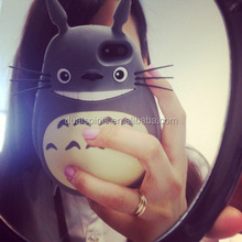 3d Japan anime My Neighbor Totoro silicone mobile phone case /rubber cell phone cover / silicone phone case supplier