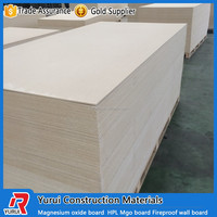 China reliable fireproof magnesium oxide board/fireproof mgo wall board manufacturer