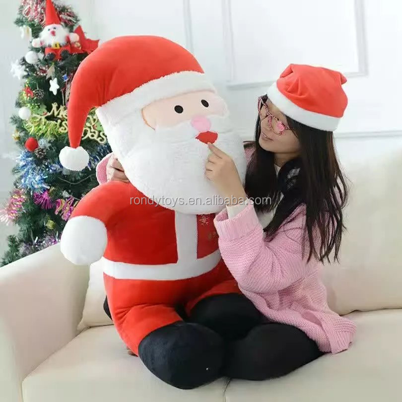 Chines Factory 2016 New Design Plushe Father Christmas Santa Claus doll