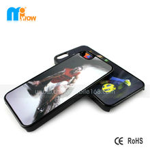 2014 world cup 3D PC basketball football team phone case for iphone 5s case with 3d flip effect