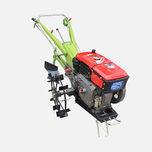 Portable cultivator tools agricultural walking tractor rice cutting machine