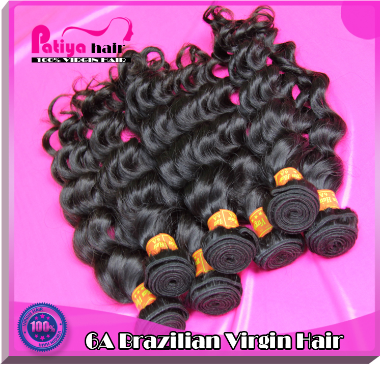 Patiya top Brizilian wavy hair good quality natural wave mink Brazilian virgin hair unprocessed raw human extensions